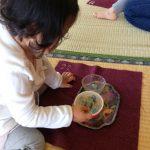 幼稚園でモンテッソーリを初体験