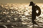 人工海岸で遊んできた