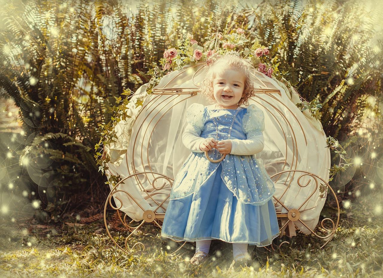 英語32カ月目 I'm a princess